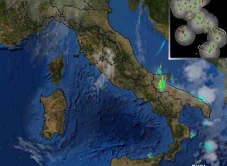 Diretta Meteo Puglia 29-09-2017 – ore 10:30 – Tempo instabile!